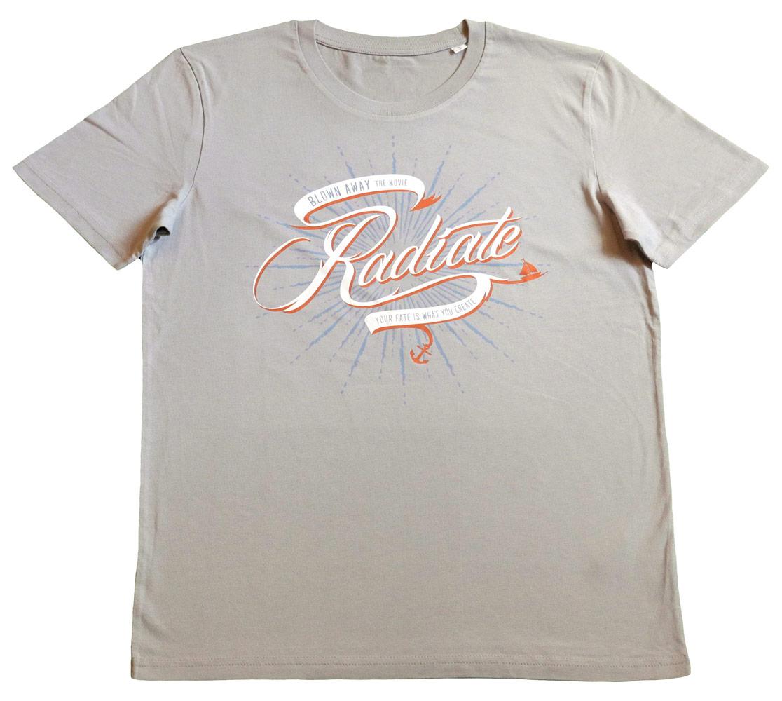 T-Shirt 'Radiate' | Opal